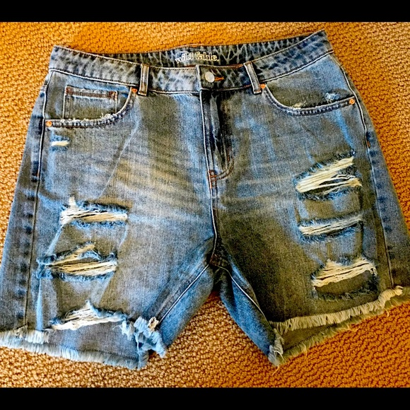 Wild Fable super distressed cutoffs. Size 12